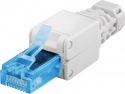 Goodbay - Tooless RJ45 network connector CAT 6A UTP unshielded