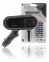 Konig FM Audio Transmitter Bluetooth 3.5 mm Black