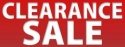 Clearance Sale - Click & Collect ONLY