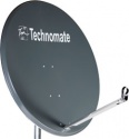 1m Technomate Solid Satellite Dish & Fittings 100cm