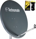 1m Technomate Soild Satellite Dish with TM1 0.1dB LNB
