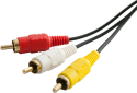 Technomate 3M Gold Plated RCA Cable