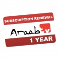 Araab TV THD504L Arabic IPTV Subscription Renewal 12 Months