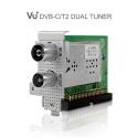 VU Hybrid DualTwin 2 x DVBCT2 Tuner for Vu UNO  SOLO SE V2  ULTIMO  DUO2