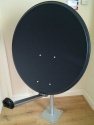 1m Mix Digital Premium TRX Satellite Dish & Pole Mount Fittings 100cm