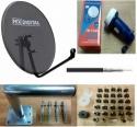 60cm Mesh Satellite Dish Kit for SKY HOTBIRD POLSAT FREESAT