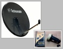 80cm Technomate Mesh Satellite Dish with LNB 0.1db