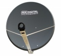 1.15m Mix Digital Premium TRX Satellite Dish & Pole Fittings 115cm