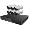 Mix Digital Viper NVR Kit - 8 Channel 2TB Recorder with 6 x 5MP Fixed Bullet Cameras