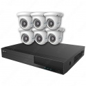 Mix Digital Viper NVR Kit - 8 Channel 2TB Recorder with 6 x 5MP Fixed Eyeball Cameras