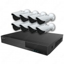 Mix Digital Viper NVR Kit - 8 Channel 2TB Recorder with 8 x 5MP Fixed Bullet Cameras