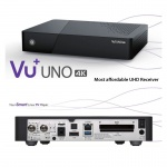 VU Uno 4K 1x DVBS2 FBC Twin Tuner Linux Enigma 2 Receiver UHD 2160p