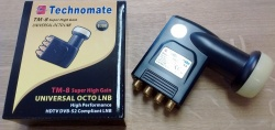 Technomate TM-8 Octo Super High Gain Universal 0.1dB LNB