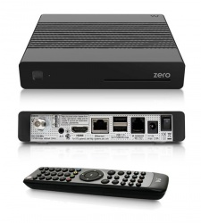 VU+ Zero (BLACK) HD Single Tuner Linux Enigma 2 Satellite Receiver