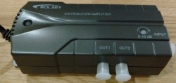 Triax Wolsey TV Booster 2 Way Distribution Signal Amplifier