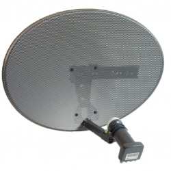 Zone 1 Satellite Dish with LNB for Sky Freesat HD SD