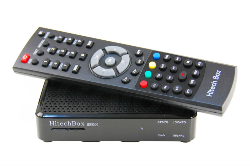 HitechBox HB9000 Satellite + IPTV Receiver