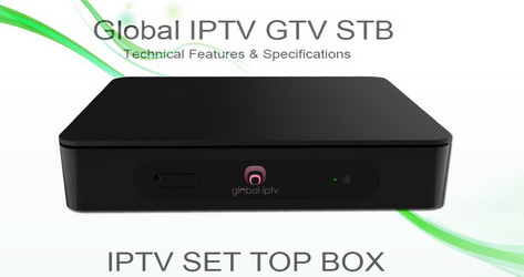 Global IPTV Arabic IPTV Set Top Box and Subscription 12 Months