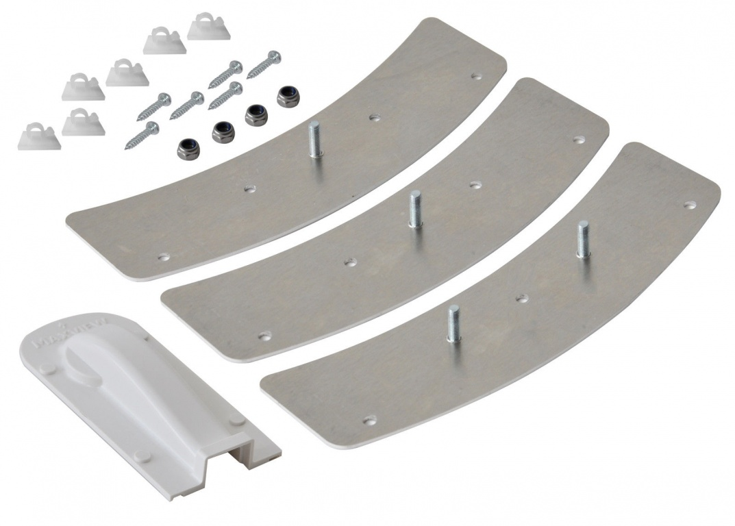 Maxview VuQube 2 Automatic Satellite Permanent Roof Mounting Kit with Fixings