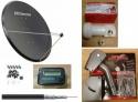 1.25m Mix Digital Motorised Satellite Dish Motor & LNB Dish Pack