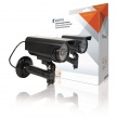 Konig CCTV Bullet Dummy Camera IP44 - Black