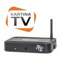 Kartina TV Russian IPTV Relax (Dune) Set Top Box and Subscription